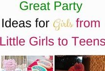 Parties for Girls / Everything you need to know about parties for girls