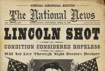 Abraham Lincoln / by Raquel Allen