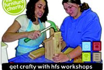 Workshop Days / Workshop Days at HFS are a fun way to make something for your home from reused or recycled materials, learning new skills and meeting a few people at the same time.  Small groups, low costs, sustainable training in Hastings and Rother, East Sussex.  Buy one get one free offer from January 2014!  More info: http://www.hfs.org.uk/training.html