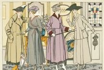 Fashion Prints / We stock a wide range of fashion plates, depicting both menswear and womenswear from the 1800s onwards!
