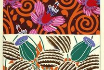 Pattern Design Prints / Here in the Print Department at Sotheran's we have a beautiful stock of original pattern design prints, dating from the early 20th century. Feast your eyes on these bold and colourful designs!