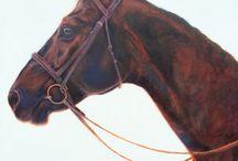 Equine Art by Julie Ferris / Original Art created by Julie Ferris all inspired by and related to the Equine subject.
