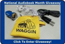 National Audiobook Month! / Here are some great literary finds we recommend for your listening pleasure. Be sure to take advantage of our OverDrive catalog, where you can download titles straight to your devices! waggin.lib.overdrive.com