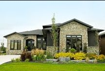 Home Exteriors / House exteriors designed and constructed by J&G Homes