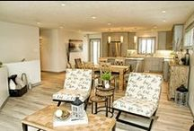 Living Spaces / Eye-catching living rooms designed with families in mind.