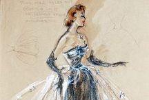 Fashion Sketches.