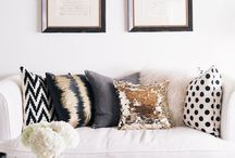 Decorative Pillows / Toss & lace pillows