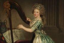 Женщина играет на арфе (The woman playing the harp) / Musical instruments in the painting. Harp. To play the harp. The woman playing the harp.  A woman and a harp. (Not fantasy !!!) Музыкальные инструменты в живописи. Арфа. Играть на арфе. Женщина играет на арфе. Женщина и арфа. (Не фэнтези !!!)