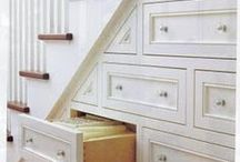 Stairs|Under Stair Ideas / Here you will find inspiring ideas for Under Stair Design, Under Stair Decorating, Under Stair Storage | Under Stair Organization | Under Stair Office | Under Stair Bookcase | Under Stair Play Spaces | Painted Stairs