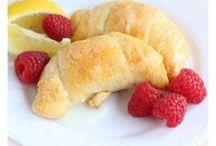 Recipes: Rolls|Dumplings / Here you will find recipes for Cinnamon Rolls, Crescent Rolls | Dumplings | Jelly Rolls | Roll Ups | Cannoli