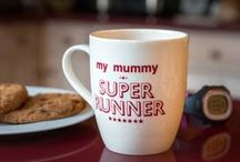 Mugs for Runners / Great mugs for people who love to run. They make great gifts! We also do coasters too...