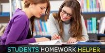 Homework Helper / Get relax from all of your mental pressures, we are here to provide unique solution to help students in their homework. We have best homework helper who provides online homework help to the students.