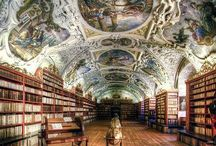 Libraries of the World / Gorgeous libraries from around the world.  Classic, elegant, timeless spaces full of books.