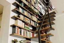 Organizing Books / Methods to organize bookshelves.  Visible systems for classification and placement.