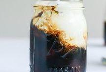 Coffee in a Mason jar
