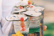 Appetizers in a Mason jar