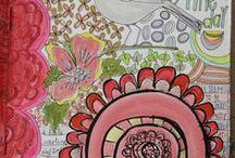 Journal Me Happy / Art Journaling
