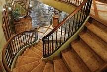Stairways / Ok. Not exactly kitchen-related. We just LOVE stairs!
