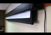 Instructional Videos / Videos that show you more about projector technology, installation tips and screen set up.