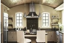 Amazing Kitchens / Some Of The Most Awesome Kitchens Found On Pinterest.