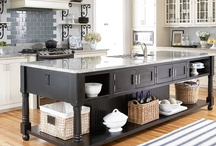 Awesome Kitchen Islands / Awesome Kitchen Islands, Some Including Unique Shapes,  Bar Stools, Banquettes