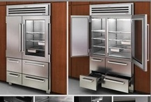 Awesome Refrigerators / Various refrigerator designs and ideas. / by Kitchen Design Ideas