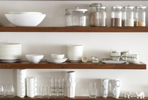 Open Shelves / Open shelves in the kitchen... / by Kitchen Design Ideas