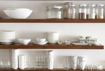 Open Shelves / Open shelves in the kitchen...