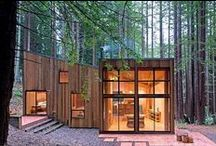 Modern houses designed in wood / A celebration of modern architecture from around the world.