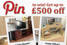 Pin to Win £500 off our beautiful wooden furniture. / Welcome to our brand new Pinterest competition where you can win £500 off any item of our stunning wooden furniture. See instructions on our board image or at www.wooden-furniture-store.co.uk
