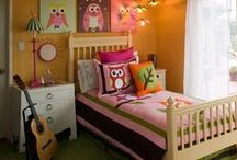 Kids bedroom ideas / Inspiration and ideas for decorating kids rooms.