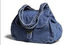 Jeans and Denim Upcycling / So many Ideas and inspiration for upcycling jeans and other denim items