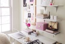 living space // home office / My dream office.