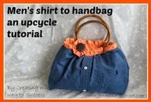 Shirts Upcycling / Ideas and suggestions for how to upcycle your old shirts / by Jill @ Creating to Success