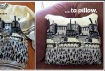 Sweater Upcycling / Ideas and suggestions for upcycling sweaters / by Jill @ Creating to Success