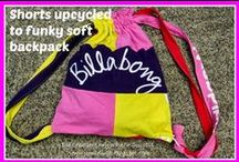 Shorts Upcycling / Ideas and suggestions for upcycling shorts / by Jill @ Creating to Success