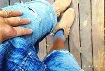 "Denim for Days / Denim styling, denim outfit ideas, denim diy, ""making of"" and denim details / by Lucky Brand"