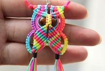 Macrame / Ideas and tutorials to learn to make using macrame.