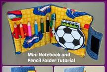 School stuff / Things to make for the kids either for school, or to help with homework, and teachers gifts too!