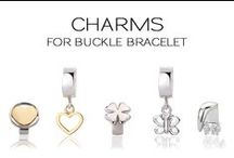 Charms for buckle bracelet / Charms for buckle bracelet