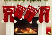 Christmas Stockings / Ideas for Christmas Stocking crafts