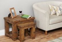 Heyford Rough Sawn Range / See our entire range of Heyford Rough Sawn furniture here. We've got the full collection of stock and low cost, fast delivery. Click the image to visit our website.