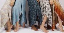 """Anitya """"L'Asiat"""" / Pantalons de yoga et méditation faites à partir des saris recyclés et fibres naturelles."""