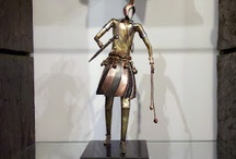 Fé / Esculturas de metal  dos deuses Africanos.