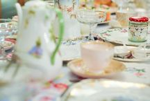 Tea & Roses China Hire / Vintage china hire is how Tea & Roses started. We love hiring out our beautiful china to all the stunning weddings.