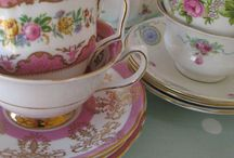 Our China Collection / At Tea & Roses we have a passion for vintage china. I can never resist a beautiful teacup....it's how it all started!
