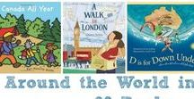 Read Around the World / BookSpring - Reading is Fundamental Motivational Activity