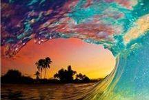 Summer, colors, fun, beach...