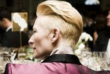 Tilda Swinton: Suited Muse / Tilda Swinton has honed her own signature when it comes to fashion, and at KitschMix we simply can't get enough.