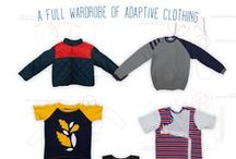 What we do best - Adaptive Clothing and Accessories / Handmade clothing for those with additional support needs is our speciality. With a wardrobe of designs available in a range of adaptive styles you are spoilt for choice.